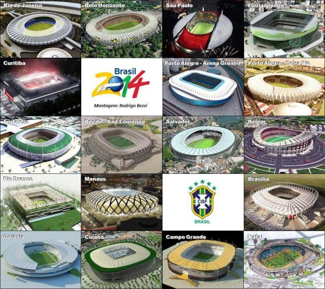 ゲーム開催予定のスタジアムの完成図
