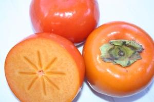 モジ特産の柿