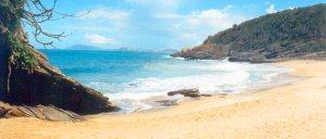 最も美しい海浜の一つ、カラヴェラスの浜