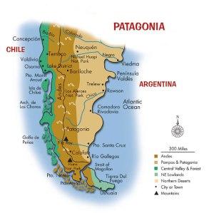 地の果て、パタゴニア